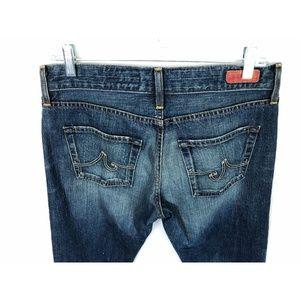 Ag Adriano Goldschmied Jeans - AG Adriano Goldschmied Ex Boyfriend Crop Jeans